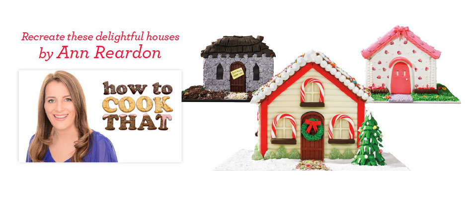 Learn how to make gingerbread houses with Ann Reardon