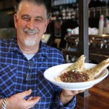 The secret to authentic hummus with spicy lamb