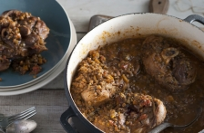Osso Bucco with Lentils