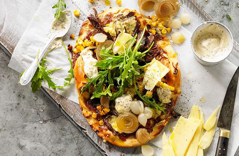 http://www.foodthinkers.com.au/images/easyblog_shared/Recipes/beef-brisket-toasted-corn-and-whole-grain-mustard-pizza.jpg